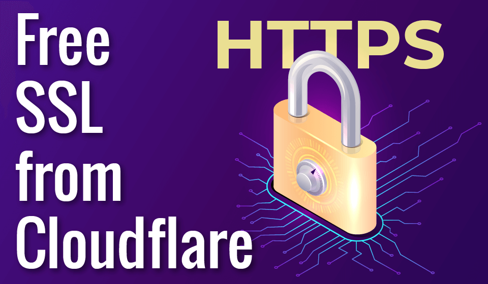 Free SSL Certificate from Cloudflare
