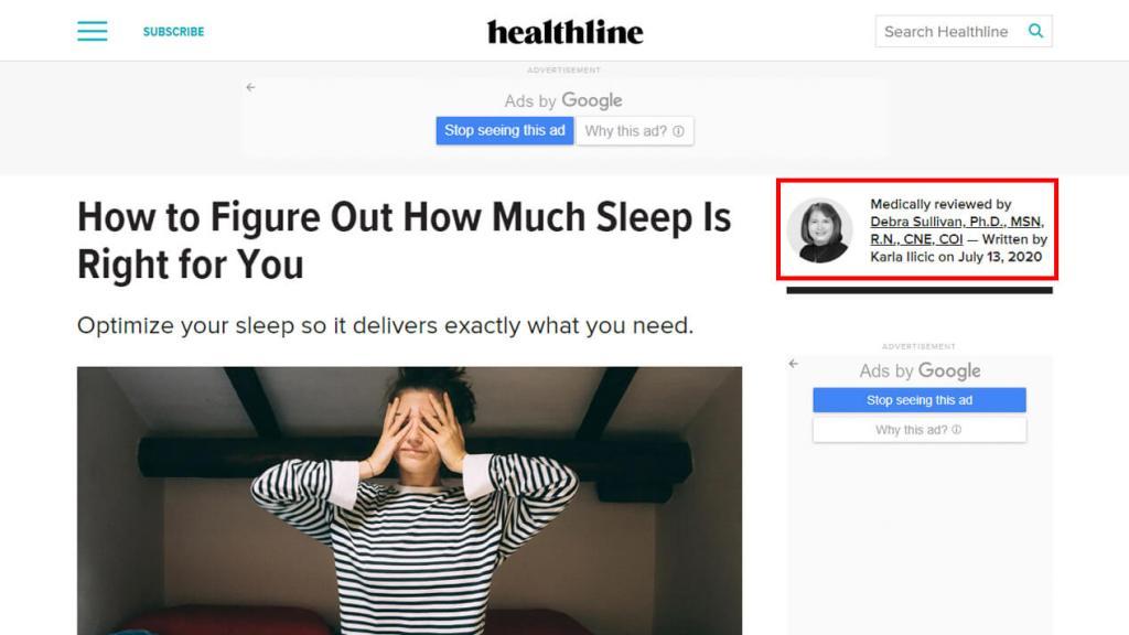 Healthline blog