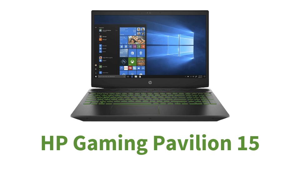 HP Gaming Pavilion 15