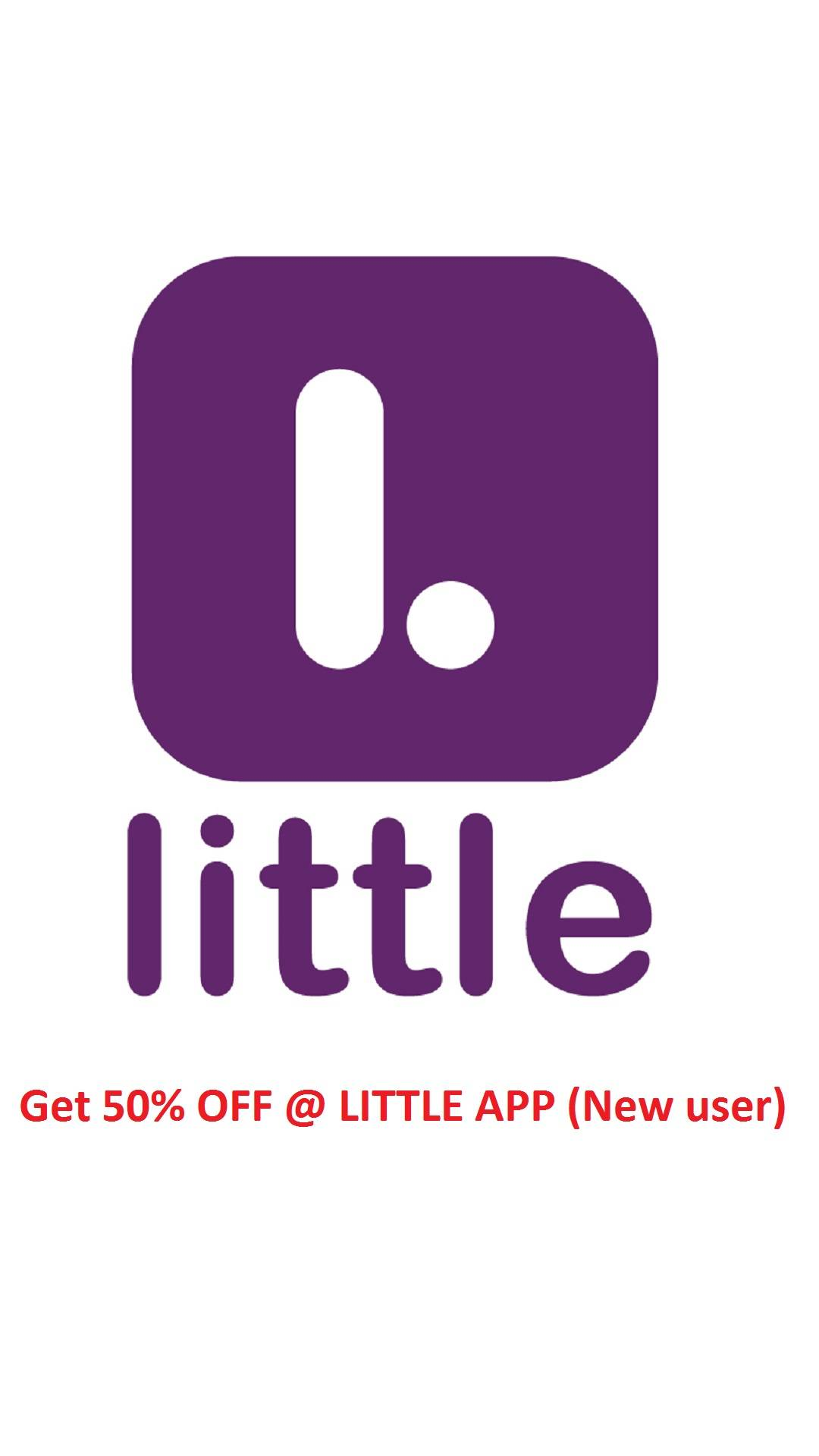 Little App – Get 50% Off On First Order Using Paytm