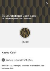 Additional Cash Back