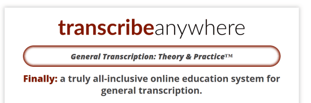 General Transcription: Theory & Practice Review