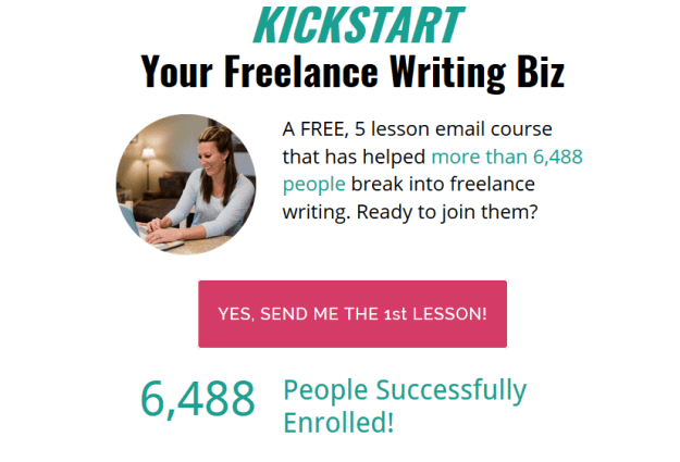 Freelance Writing Mini Course