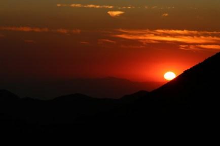 Strawberry Peak Sunset