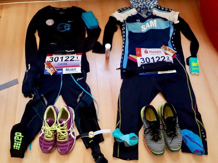 Hamburg Marathon Womens Race Outfit