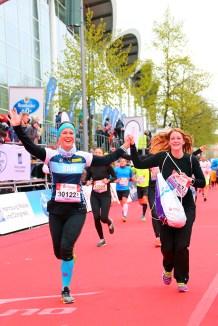Hamburg Marathon Womens Race Ziel