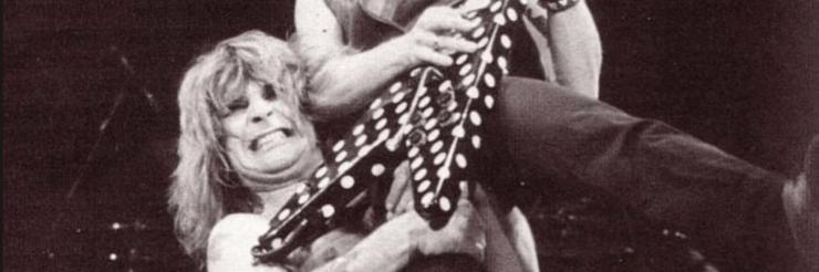 Ozzy Osbourne in '82: fallen guitar heroes and bitten bats