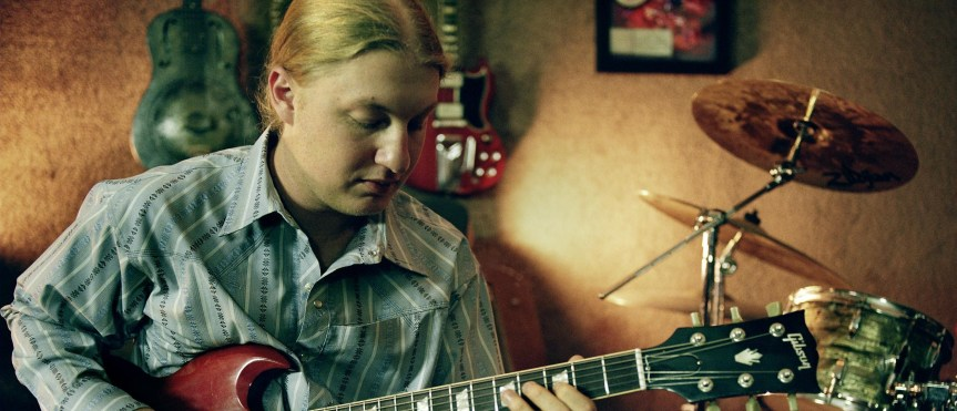 Derek Trucks offers advice to 14-year-old guitar star Quinn Sullivan