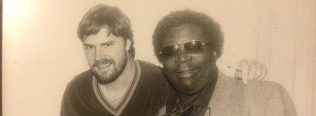 B.B. King plays North Vancouver in 1984, Newt gets the scoop