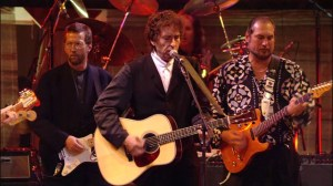 Bob Dylan performs My Back Pages from 30th anniversary concert - video