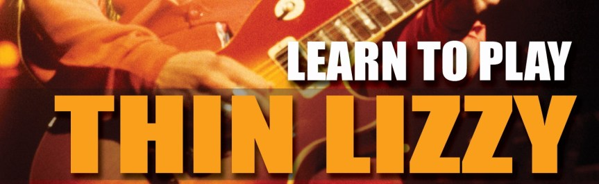 Lick Library DVD reveals the secrets of Thin Lizzy's timeless guitar licks