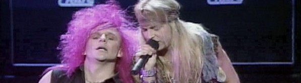 Poison's vacuous array of tunes would be outrocked by Loggins & Messina