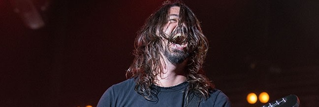 "Dave Grohl's ""Holy Shits"" kick ass with Van Halen and Alice Cooper covers"