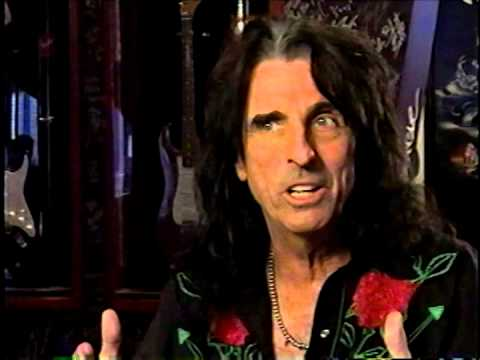 Alice Cooper on KISS, Marilyn Manson, Johnny Rotten, and the Peter Pan syndrome