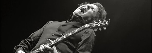 Gary Moore freaks rejoice: the Irish guitar hero's fiery talent will burn on live CD