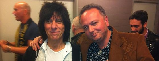 "David Gogo gets tongue-tied around Jeff Beck, ""the best guitarist in the world"""