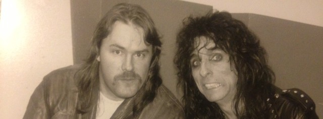 Alice Cooper tours with Trash, talks songwriting, horror, and '70s rock