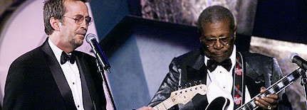 B.B. King says that Eric Clapton was like his girlfriend on Riding With the King