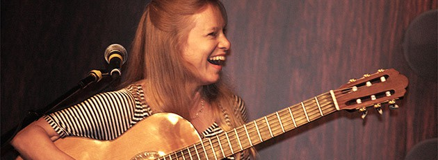 Guitar champ Muriel Anderson loves Christopher Parkening, Chet Atkins and Les Paul