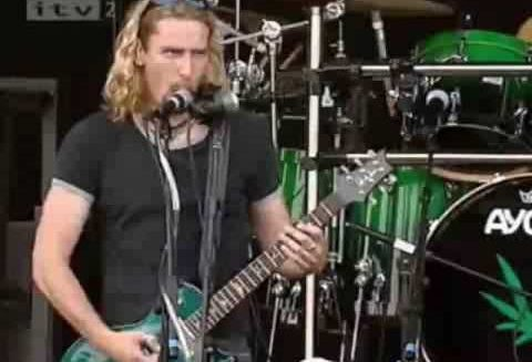Reviewing Nickelback in honour of pot-lovin', hard-rock musicians from Alberta