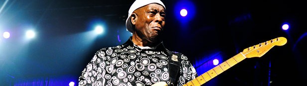 """We're here for a reason, not here for a season,"" says blues survivor Buddy Guy"