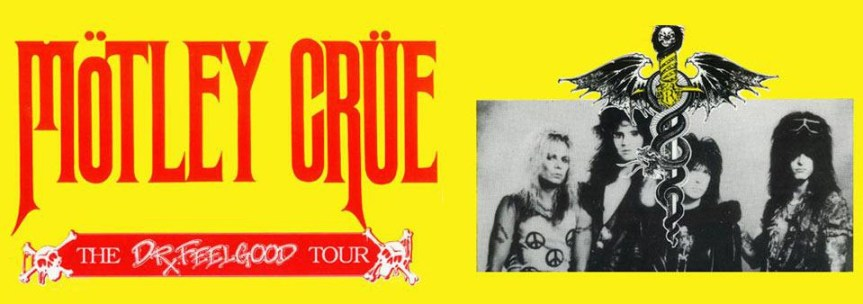 Motley Crue plays Vancouver at the height of its popularity on the Dr. Feelgood tour