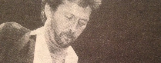 "Eric Clapton ends his 1985 North American tour in Vancouver, Duck Dunn proclaims ""GODDAMN!"""