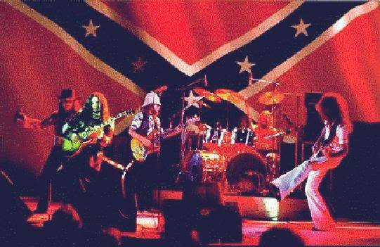 American Stars 'n Bars: Lynyrd Skynyrd and the lure of the Confederate flag