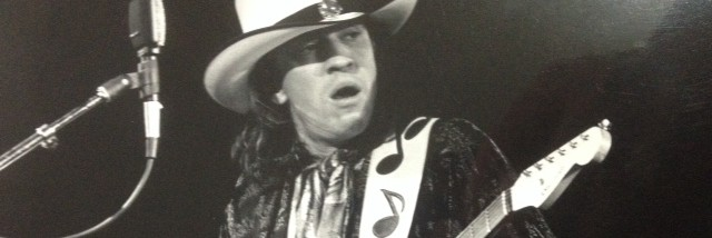 "Stevie Ray Vaughan tears it up in Vancouver, says ""serious trouble indeed"""