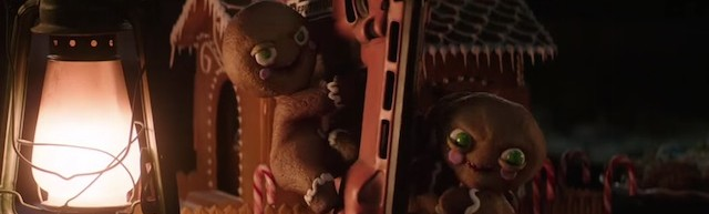 Krampus makes the most of demonic gingerbread men