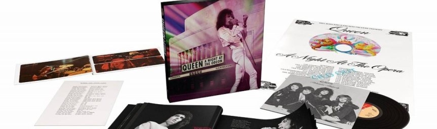 Queen box set out today captures the legendary rockers live in '75