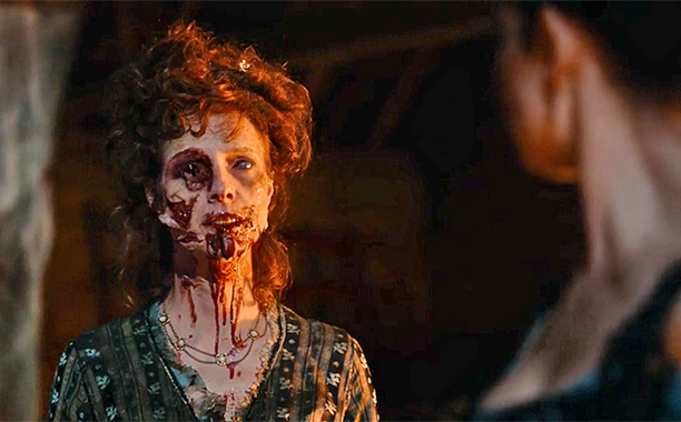 Pride and Prejudice and Zombies equals yuck