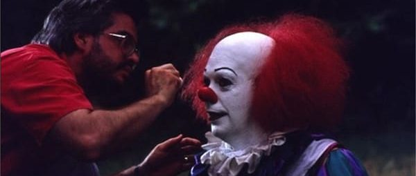 Original Pennywise makeup-FX artist Bart Mixon talks Tim Curry's look on the 1990 set of Stephen King's It