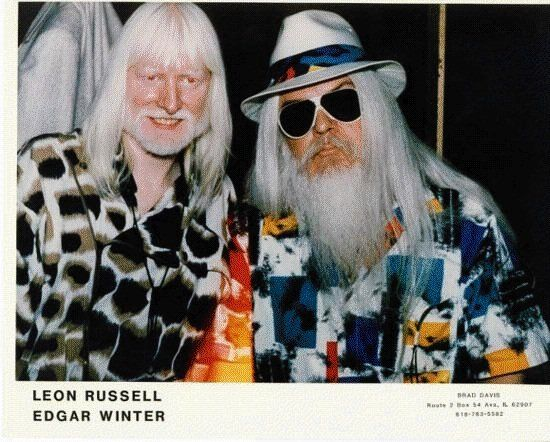 Edgar Winter and Leon Russell knock 'em down and drag 'em out in Vancouver