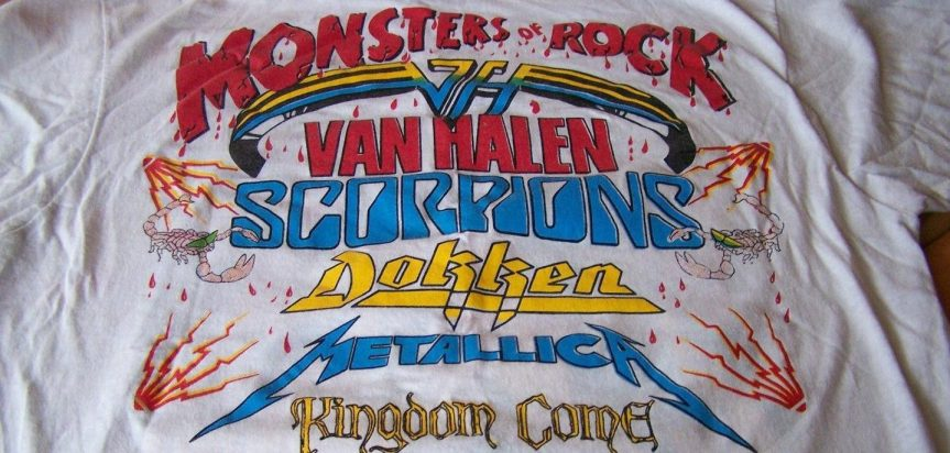Van Halen and Scorpions battle it out for stadium-rock supremacy as the Monsters of Rock tour hits Seattle