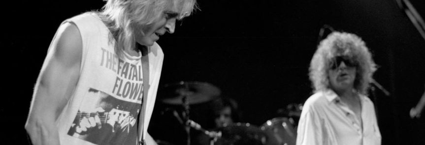 """Ian Hunter and Mick Ronson on reuniting and getting lean and mean after 40: """"Might even want to prove something"""""""