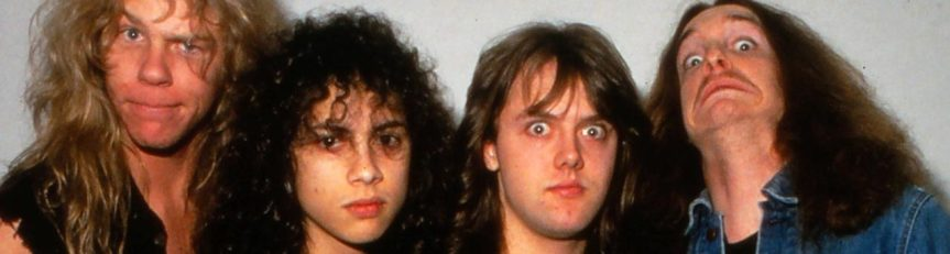 That time 21-year-old Lars Ulrich woke up early to call and tell me how Metallica's new Ride the Lightning album was doin'