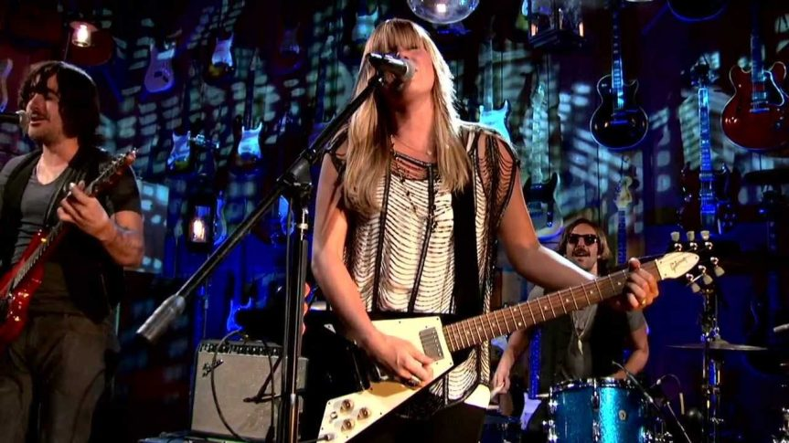 That time 24-year-old Grace Potter told me that she wasn't too young to appreciate the Allman Brothers
