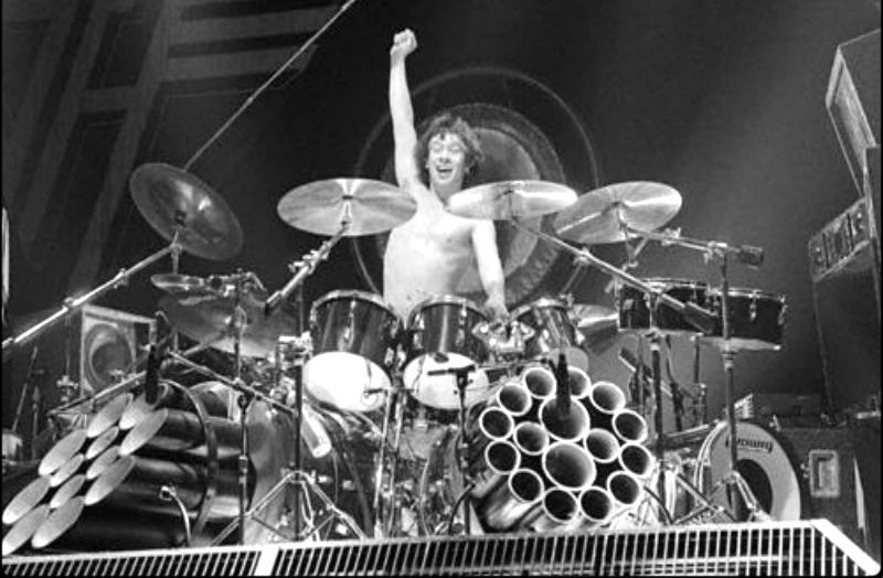 That time Alex Van Halen told me that the first drummer who really blew him away style-wise was Ginger Baker