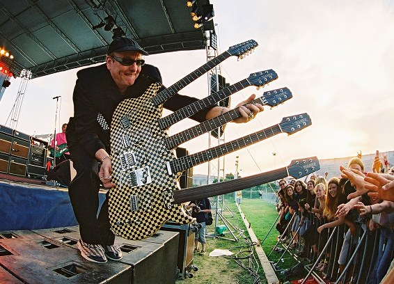 That time Cheap Trick's Rick Nielsen told me that nobody under 21 gets to play his five-neck guitar