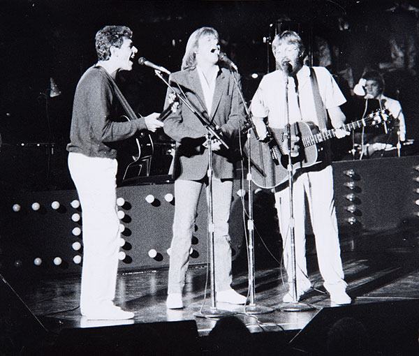 Graham Goble knows it's a long way there, so Little River Band recruits John Farnham for the trip