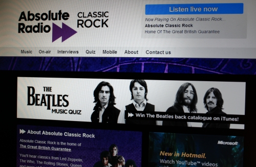 The Beatles on Absolute Radio Classic Rock