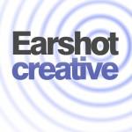 earshot creative square logo - white background