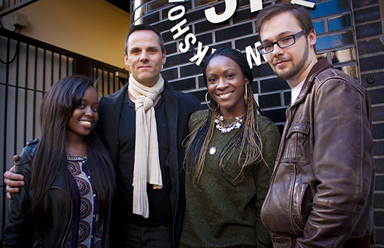 Jumoke, Mark, Sefa and Scott