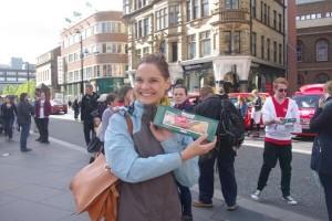 Happy Kreme woman