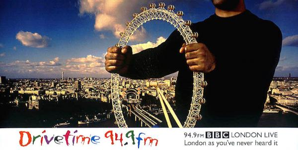 BBC London Live drivetime ad