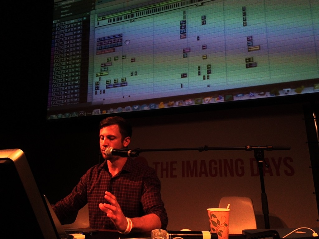 Chris Nicoll and his big ProTools screen