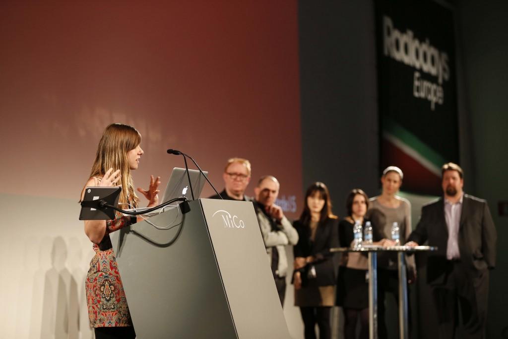 Anna Sale introduces her 5 ideas. Photo: Conor McCabe.