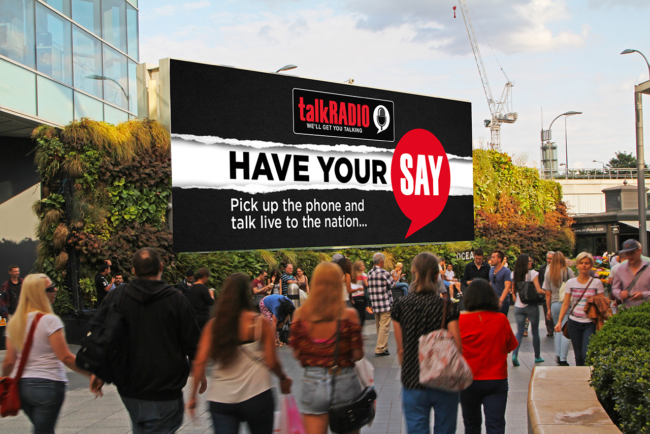 talkRADIO ad Westfield
