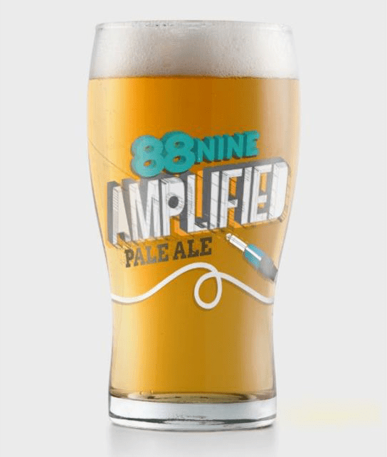 88 Nine Amplified pale ale